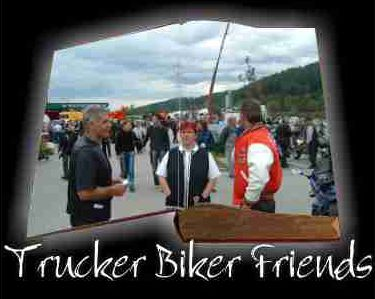 Trucker Biker Friends
